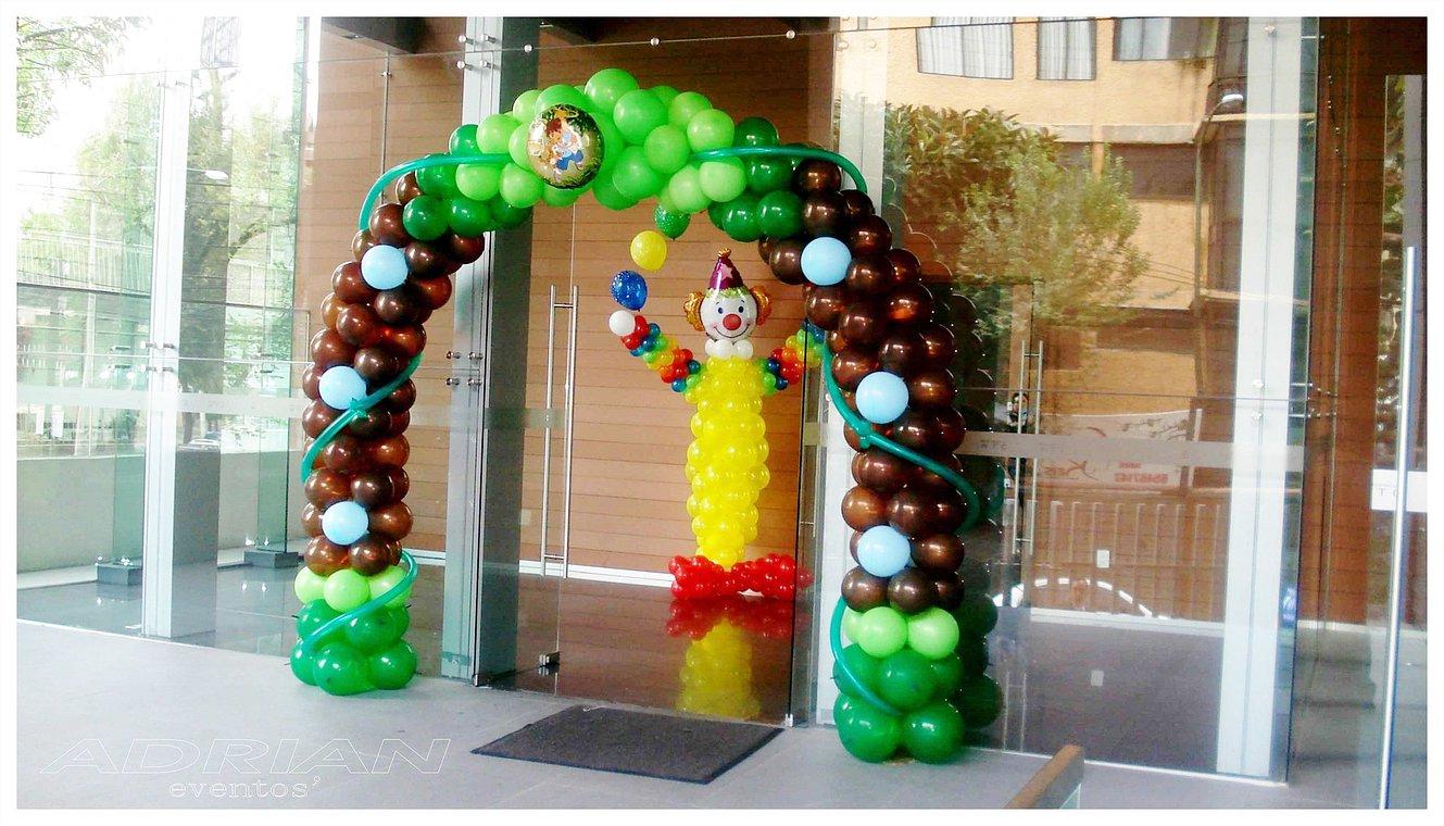 Decoraci n con globos para fiestas infantiles alabio - Globos para eventos ...