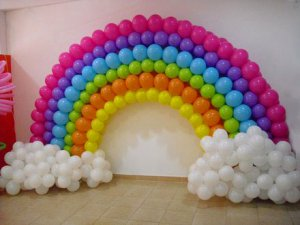 Adornos con globos Decoracin con globos Decoracin para fiestas