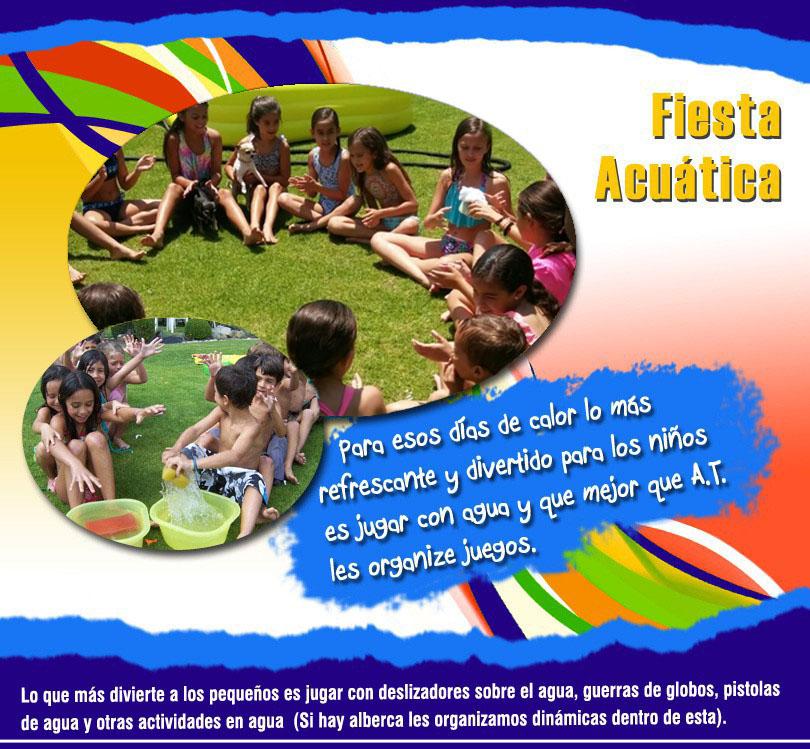 Fiesta Acuática para Fiestas Infantiles | Alabio Fiestas ...