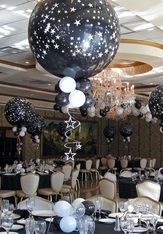 Organizaci n de fiestas tem ticas fiesta blanco y negro for Idea deco en blanco y negro