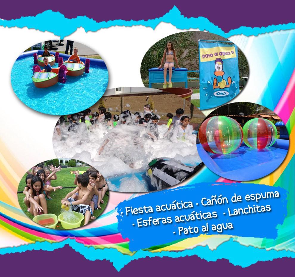 Inflables Acuaticos Juegos De Agua Alabio Fiestas Infantiles Puebla