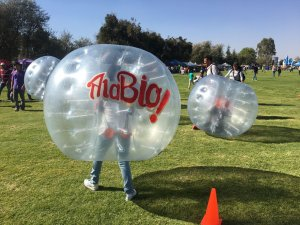 Renta de Bubble ball en puebla